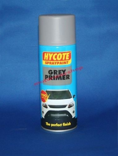 Grey Primer Spray Paint Hycote 400ml Aerosol Undercoat